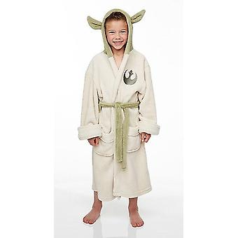 Kids Yoda dressing kjole/badekåbe (Star Wars)