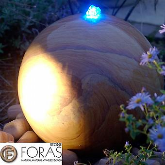 Foras Belmont 40 Natural Stone Pool Water Feature Luminar Kit