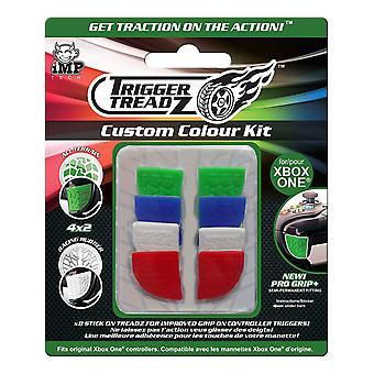 Kit de couleur personnalisée Trigger TREADZ 8-Pack pour manette Xbox One