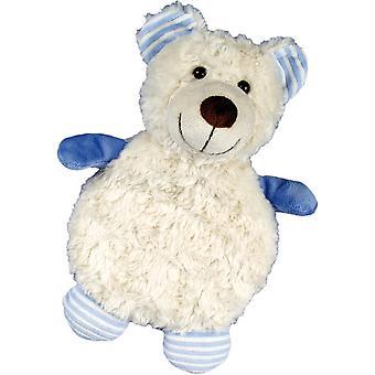 Children's Faux Fur & Fleece Cherry Pit Pillow: Bear