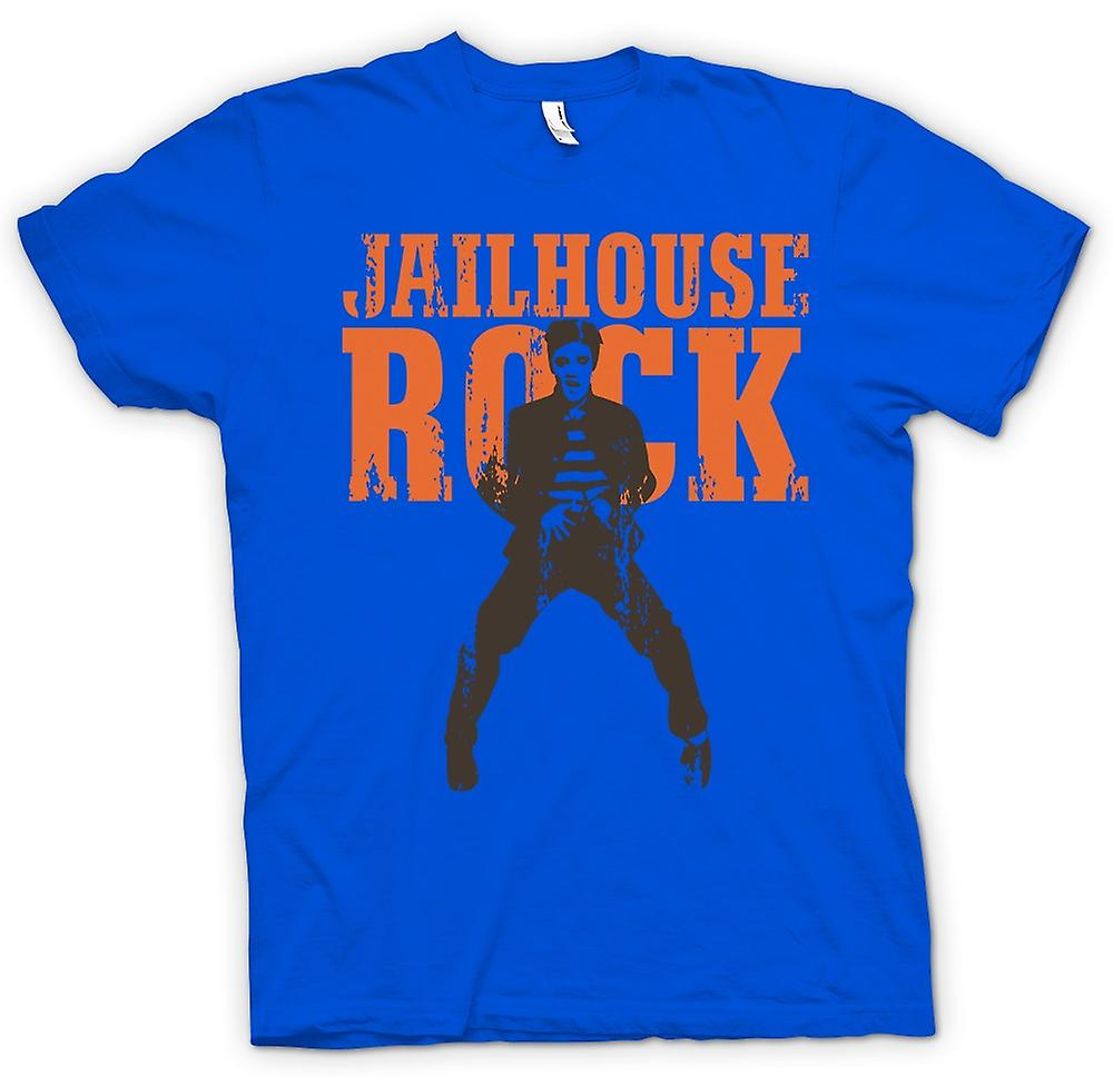 Heren T-shirt - Jailhouse Rock - Elvis