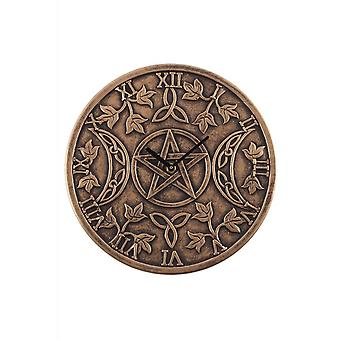 Attitude Clothing Terracotta Triple Moon Clock