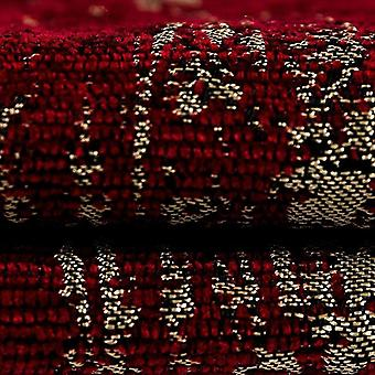 Mcalister textiles textured chenille wine red fabric