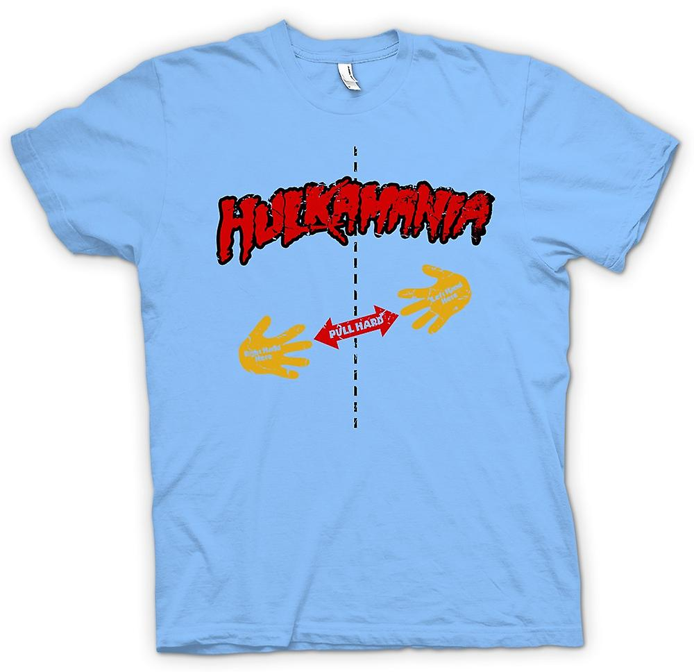 Heren T-shirt-Hulk Mania - Rip Shirt - Pull hier