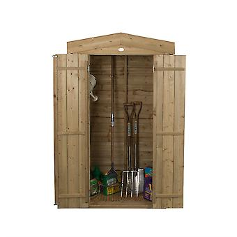 Forest Garden Pressure Treated Apex Tall Wooden Garden Store