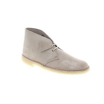 Clarks Desert Boot Homme Beige Tan Suede Lace Up Desert Boots Chaussures