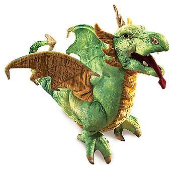 Hand Puppet - Folkmanis - Dragon Wyvern  New Animals Soft Doll Plush Toys 2812