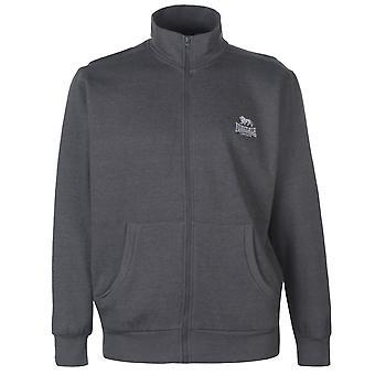 Lonsdale Mens Full Zip Fleece Long Sleeve Sweater Top