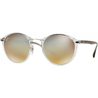 Ray-Ban RB4242 Light Ray Transparent Silver Degraded Flash