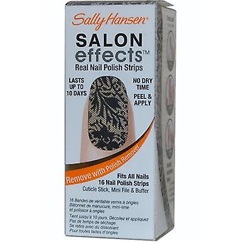 Sally Hansen Salon effekter Real Nail Polish Strips spetsad upp (#300)