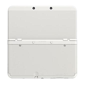 Compatible top & bottom cover plates for nintendo new 3ds console - white