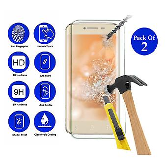Pack of 2 Tempered Glass Screen Protection For All Call A1 4 5.5