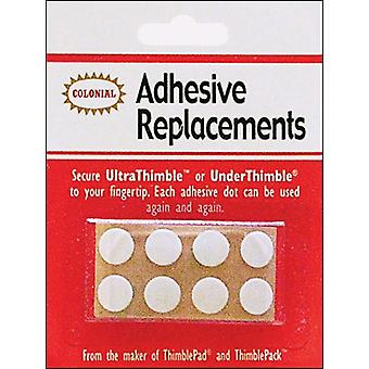 Under Thimble Adhesive Replacements 8 Pkg Sm201