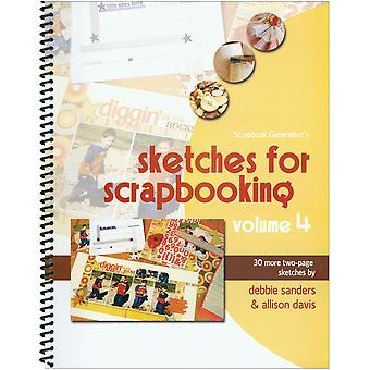 Scrapbook Generation Sketches For Scrapbooking Volume 4 Sg Sv4