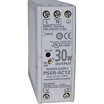 Rail mounted PSU (DIN) Idec PS5R-SC24 24 Vdc 1.3 A 31.2 W 1 x