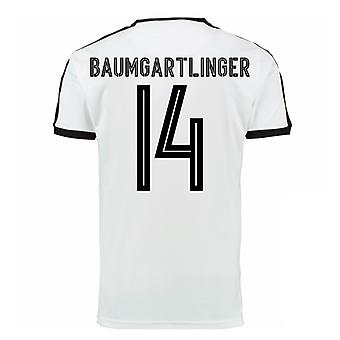 2016-17 Austria Away Shirt (Baumgartner 14)