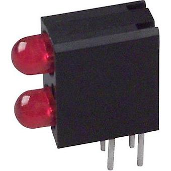 Componente de LED rojo (L x W x H) 13.33 x 10.73 x 4,32 mm Dialight