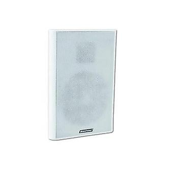 ELA wall speaker Omnitronic FPS-5 10 W White 1 pc(s)