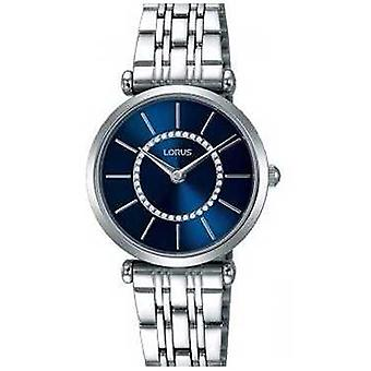 Lorus Womens Stainless Steel Bracelet Blue Dial RRW97EX9 Watch