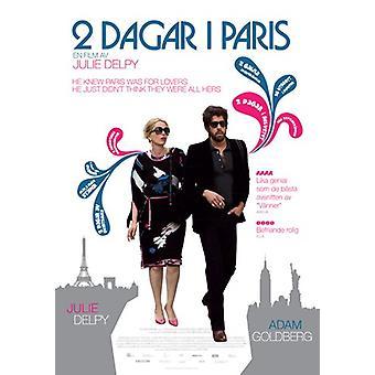 2 дня в Париже фильм плакат (11 x 17)