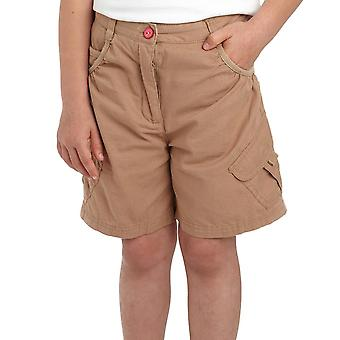 New Regatta Girl's Moonshine Walking Casual Shorts Brown