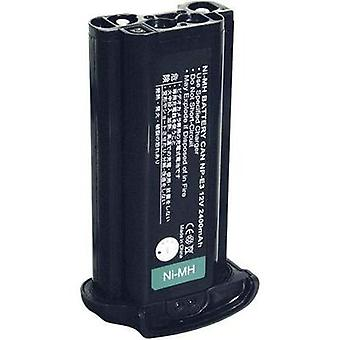 Camera battery Conrad energy replaces original battery NP-E3 12 V 1800 mAh
