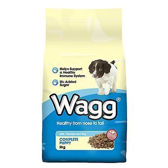 Wagg komplet hvalp kylling & Veg 2kg