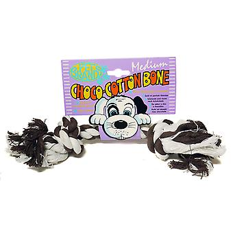 Choco Cotton Bone Med (Pack of 3)