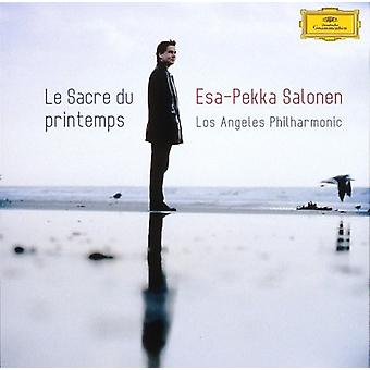 Stravinskij / Salonen, Esa-Pekka - Stravinskij: Le Sacre Du Printemps [SACD] USA import