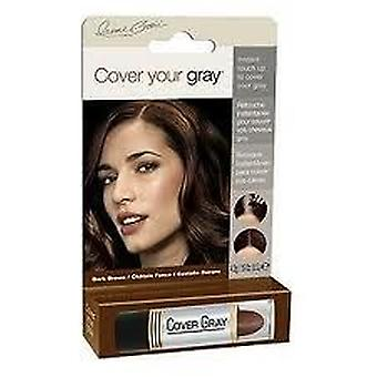 Cover Your Gray Touch-Up Stick Dark Brown