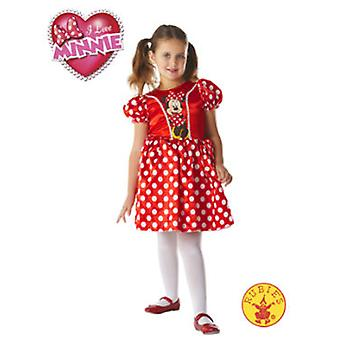 Rubie's Minnie Mouse Costume Classic Red (Costumes)