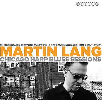Martin Lang - Sluggin kanden - Martin Lang Chicago Blues [CD] USA importerer