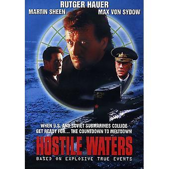 Fjendtlige Waters [DVD] USA importerer