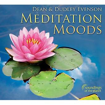Dean Evenson & Dudley - Meditation stemninger [CD] USA import