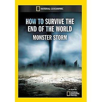 How to Survive the End of the World Monster Storm [DVD] USA import