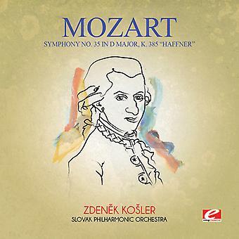 Mozart - Symfonia nr 35 w import USA D głównych K. 385 Haffnerowska [CD]