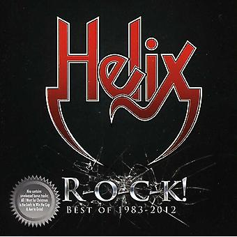 Helix - Best of 1983-2012 [CD] USA import