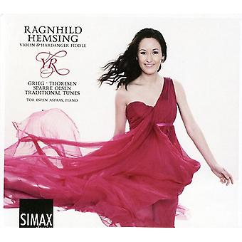 Thoresen/Sparre Olsen/Grieg/Traditional - Ragnhild Hemsing: Yr [CD] USA import