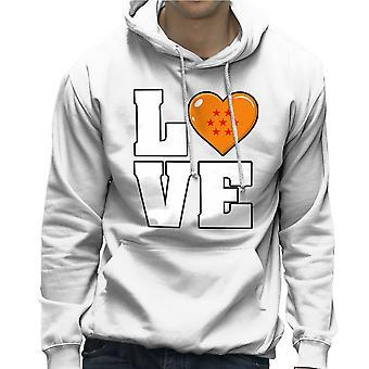 Dragonball Z Love Men's Hooded Sweatshirt