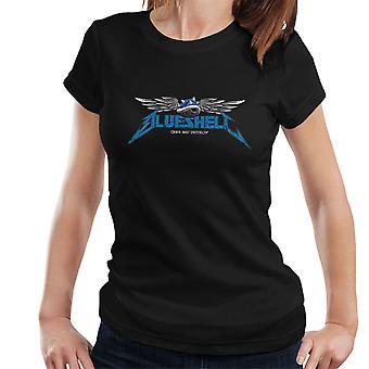 Mario Kart Blue Shell Seek And Destroy Women's T-Shirt