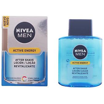 Nivea Men Skin Energy Aftershave 100 Ml (Mannen , Scheren , After shaves)