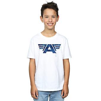 Meninos de Marvel Capitão América Guerra Civil A camiseta de jogo