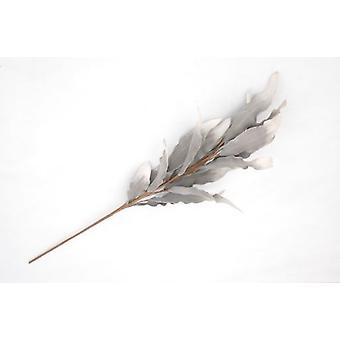 Sukima Decor Grey Leaf (Home , Decoration , Flowers)