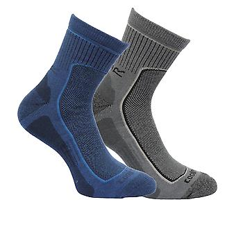 Regatta Great Outdoors Mens Cushioned Active Lifestyle Walking Socks (Pack Of 2)