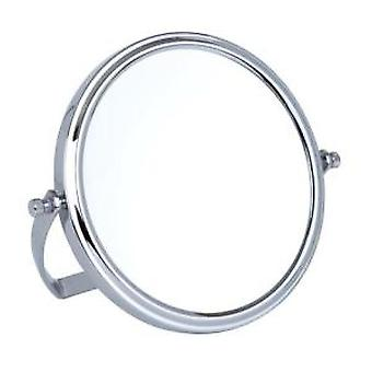 10x Magnification Chrome Travel Mirror