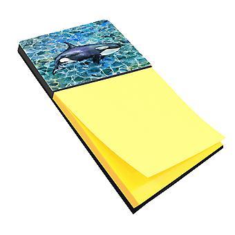 Carolines Treasures  BB5334SN Killer Whale Orca Sticky Note Holder