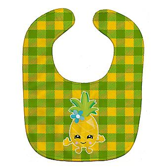 Carolines Treasures  BB8961BIB Pineapple Girl Face Baby Bib