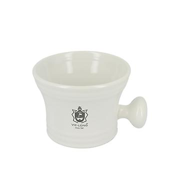 Vie-Long Classic Shaving Mug White Porcelain