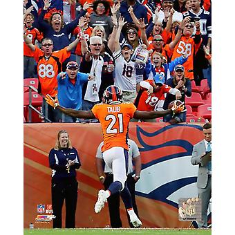 Aqib Talib 2017 Action Photo Print