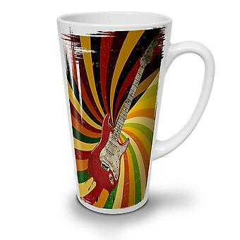 Bass Guitar Song Music NEW White Tea Coffee Ceramic Latte Mug 17 oz | Wellcoda